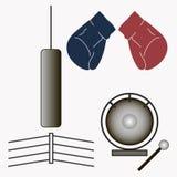 Иллюстрация бокса логотипа Стоковые Изображения
