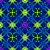 Иллюстрация вектора безшовная с геометрическими элементами Стоковое фото RF