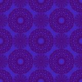 Иллюстрация вектора безшовная с геометрическими элементами Стоковая Фотография RF