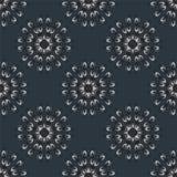Иллюстрация вектора безшовная с геометрическими элементами Стоковые Фото