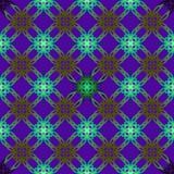 Иллюстрация вектора безшовная с геометрическим элементом мульти-collor Стоковые Фото