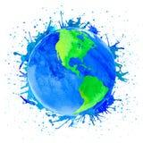 Иллюстрация вектора земли Стоковое Фото