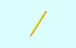Иллюстрация вектора значка карандаша дизайн значка плоский для вебсайта или app - графиков запаса Бесплатная Иллюстрация
