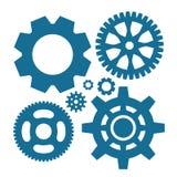 Иллюстрация вектора значка шестерни или Cog Стоковые Фото