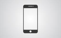 Иллюстрация вектора значка smartphone Стоковое Изображение