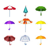 Иллюстрация вектора зонтика Стоковая Фотография