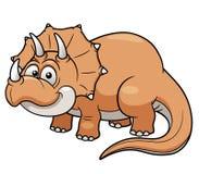 Динозавр шаржа Стоковое Изображение RF