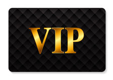 Иллюстрация вектора карточки членов VIP Стоковое Изображение