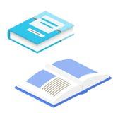 Иллюстрация вектора книги 3d Учебник Образование, ООН Стоковая Фотография RF