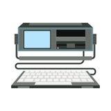 Иллюстрация вектора компьютера Стоковое Изображение RF