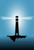 Иллюстрация вектора маяка Стоковая Фотография RF