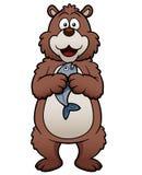 Медведь шаржа Стоковое Изображение RF