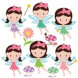 Иллюстрация вектора милого сада fairy Стоковое Фото