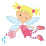 Иллюстрация вектора милого сада fairy Стоковые Фото