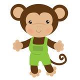 Иллюстрация вектора обезьяны Стоковая Фотография