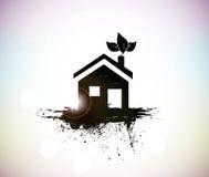 Дом Grunge Стоковое фото RF