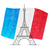 Иллюстрация вектора Парижа Стоковое Изображение