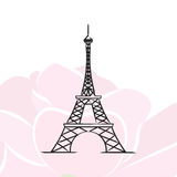 Иллюстрация вектора Парижа Стоковые Фотографии RF