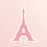 Иллюстрация вектора Парижа Стоковая Фотография RF