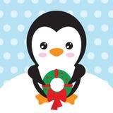 Иллюстрация вектора пингвина Стоковая Фотография