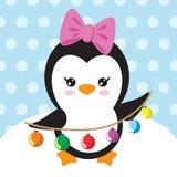 Иллюстрация вектора пингвина Стоковые Фотографии RF