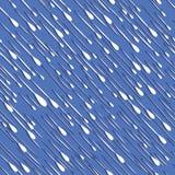 Иллюстрация вектора погоды предпосылки дождя безшовная Стоковые Фотографии RF
