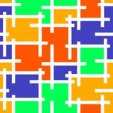 Иллюстрация вектора предпосылки мозаики цветного стекла иллюстрация вектора