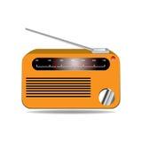 Иллюстрация вектора радио Бесплатная Иллюстрация