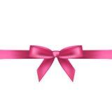 Розовый смычок Стоковые Изображения