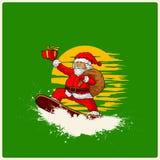Иллюстрация вектора Санта Клауса Стоковая Фотография RF
