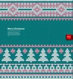 Иллюстрация вектора связанная рождеством Стоковые Фотографии RF