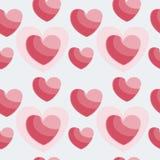Иллюстрация вектора сердец Стоковая Фотография
