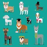 Иллюстрация вектора собаки Изображение ` s детей стилизованное бесплатная иллюстрация