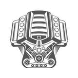 Иллюстрация вектора современной спортивной машины Стоковые Фотографии RF