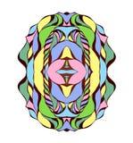 Иллюстрация вектора с абстракцией Стоковая Фотография