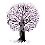 Иллюстрация вектора с деревом Бесплатная Иллюстрация