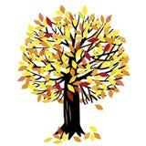 Иллюстрация вектора с деревом Иллюстрация штока