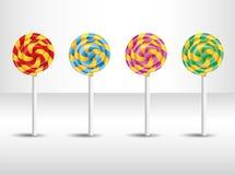 Иллюстрация вектора с конфетой. иллюстрация вектора