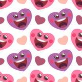 Иллюстрация вектора с смешным сердцем шаржа иллюстрация вектора
