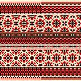 Иллюстрация вектора украинского фольклорного безшовного Пэт Стоковое фото RF
