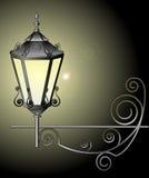 Иллюстрация вектора уличного фонаря Стоковые Изображения RF
