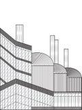 Иллюстрация вектора фабрики Бесплатная Иллюстрация