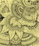 Иллюстрация вектора чертежа doodle Стоковое фото RF