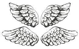 Иллюстрация вектора шаржа собрания эскиза крылов Стоковые Изображения RF