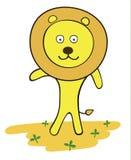 Иллюстрация вектора льва Стоковые Фотографии RF