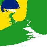 Иллюстрация вектора для седьмое -го сентябрь, День независимости Бразилии Стоковые Изображения RF