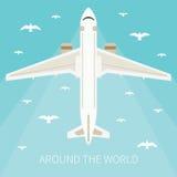 Иллюстрация вектора для туристической индустрии Стоковое Изображение