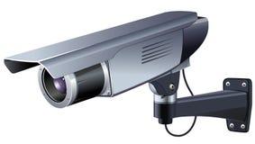 Иллюстрация вектора CCTV Стоковое фото RF