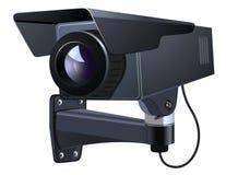 Иллюстрация вектора CCTV Стоковая Фотография RF