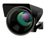 Иллюстрация вектора CCTV Стоковые Фотографии RF